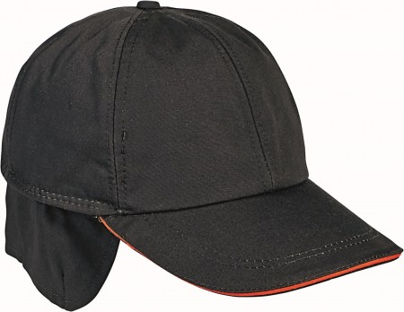 EMERTON Wintermütze, Winter Cap schwarz/orange