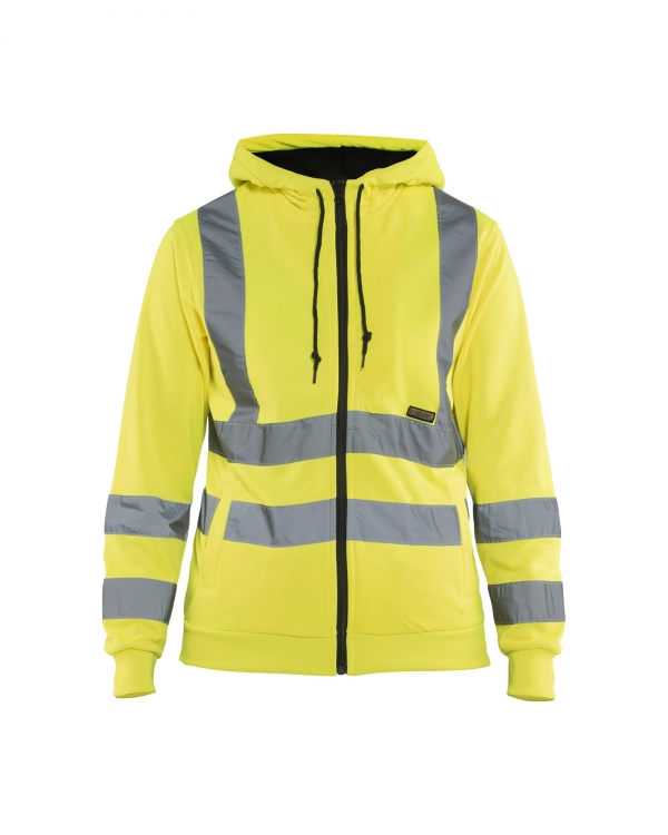Damen High Vis Kapuzenjacke