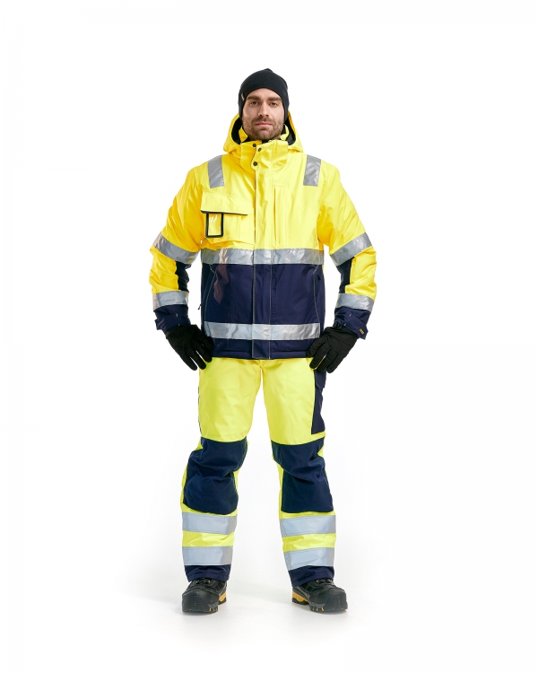High Vis Winter Latzhose