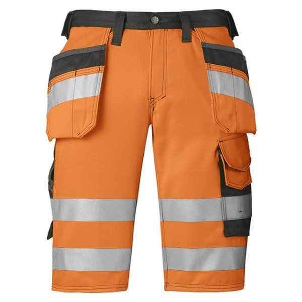High-Vis Shorts mit Holstertaschen, Klasse 1