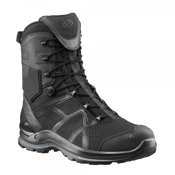 HAIX BLACK EAGLE Athletic 20 T highblack Mikrofaserstiefel extrem rutschfest Sidezipper