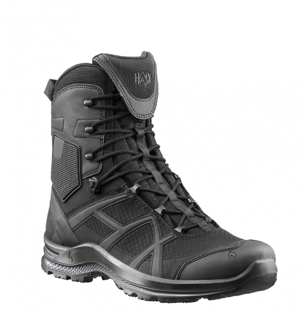HAIX BLACK EAGLE Athletic 20 T highblack Mikrofaserstiefel Sidezipper super leicht