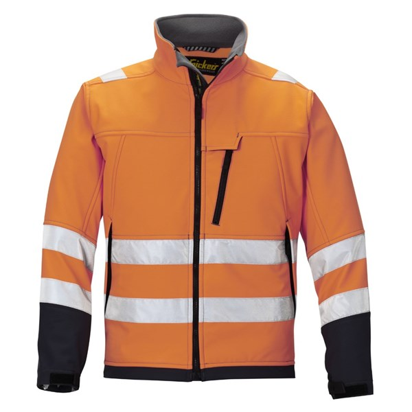 High-Vis Softshell Jacke, Klasse 3