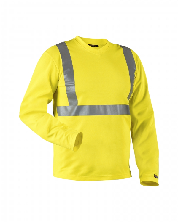 High Vis Langarm Shirt