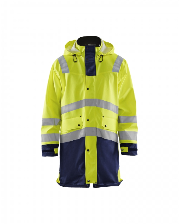 High Vis Regenmantel Level 2