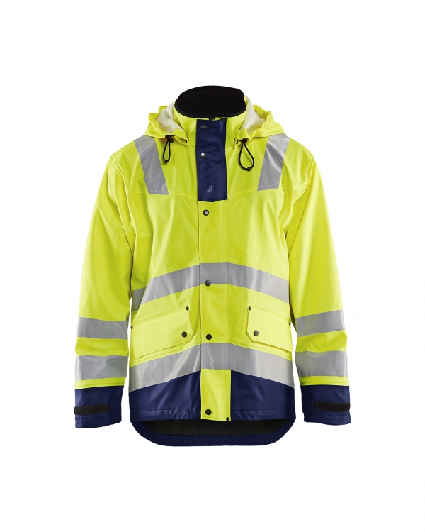 High Vis Regenmantel gefüttert Level 2