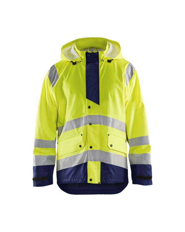 High Vis Regenjacke Level 3