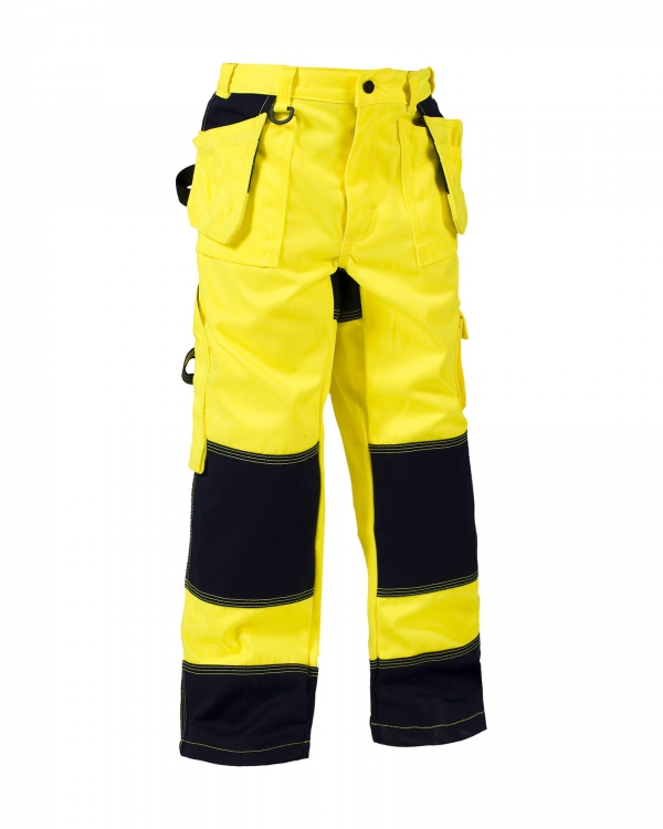 Bundhose High Vis Kinder