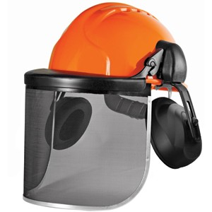 Waldarbeiterhelm JSP orange