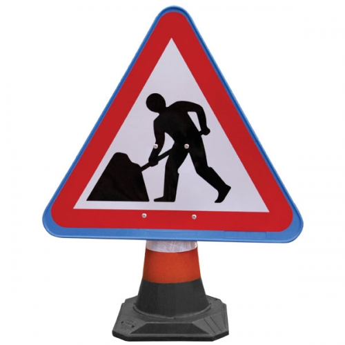 PortaCone™ Sign - Roadworks