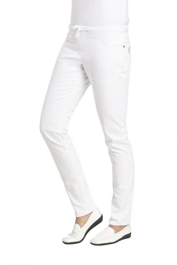 Damenhose, Slim-Style, 270 g/m²,  weiss
