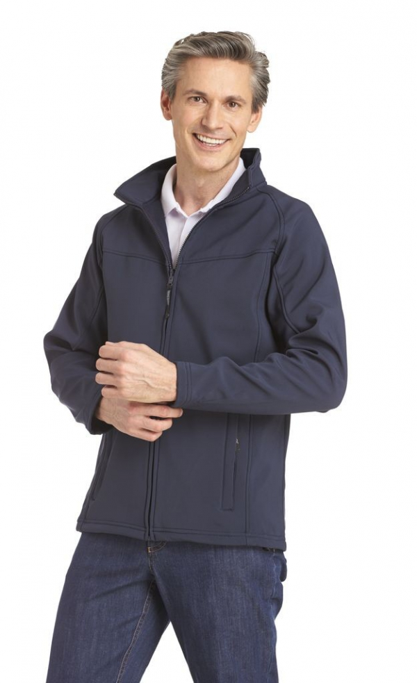 Herren Softshelljacke Stretch, 270g/m²