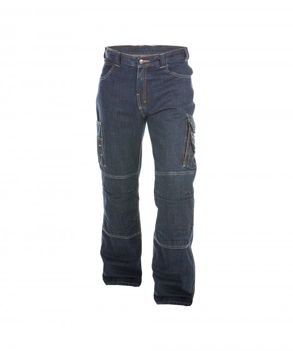 DASSY Knoxville Jeans Arbeitshose in Stretch mit Kniepolstertaschen