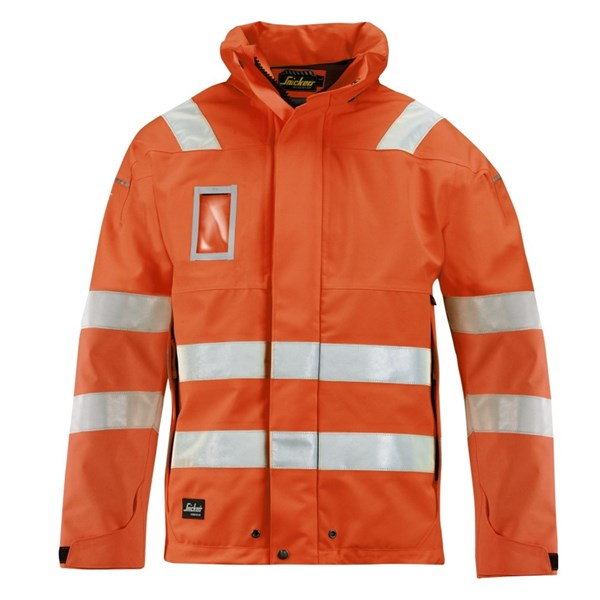 High-Vis GORE-TEX® Shell Jacke, Klasse 3