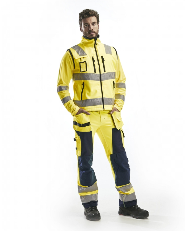 High Vis Softshell Weste