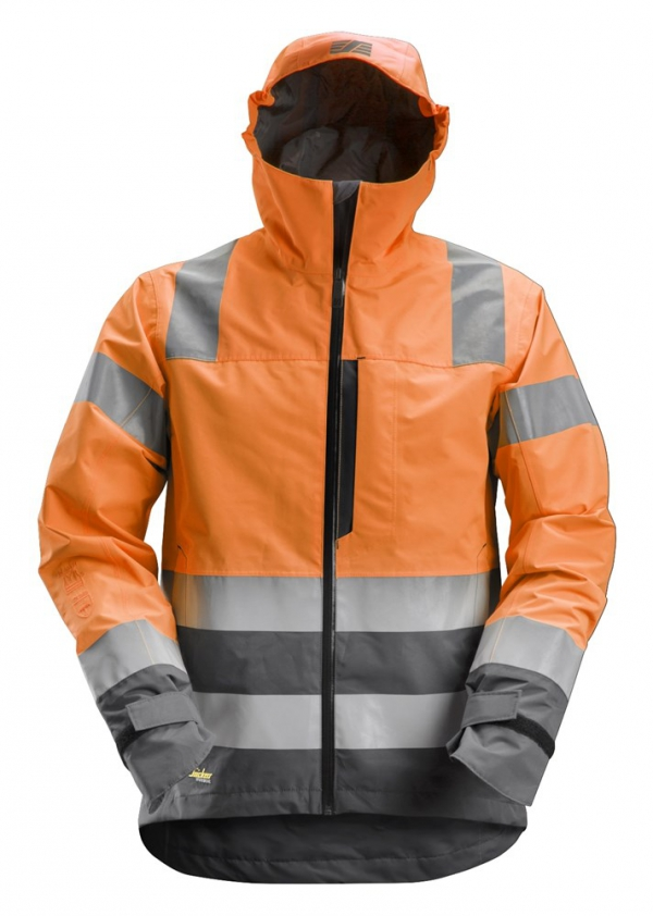 AllroundWork, High-Vis WP Shell Jacke CL3