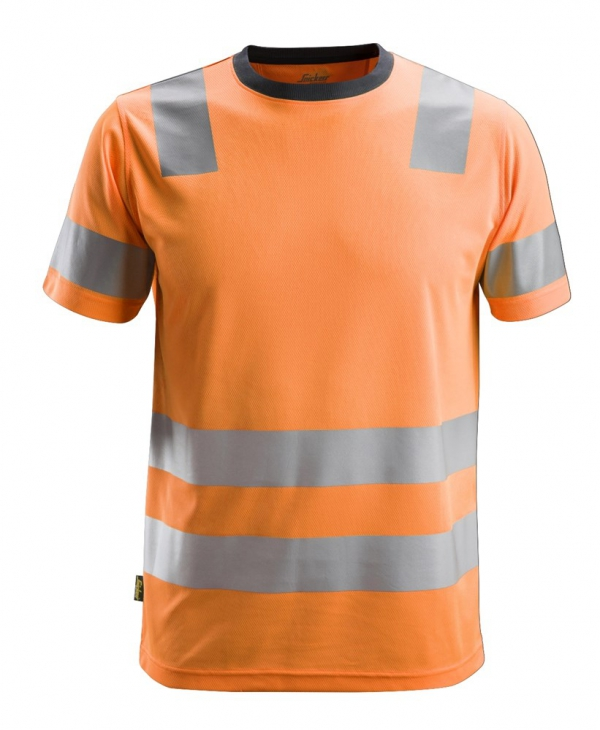 AllroundWork, High-Vis T-Shirt CL 2