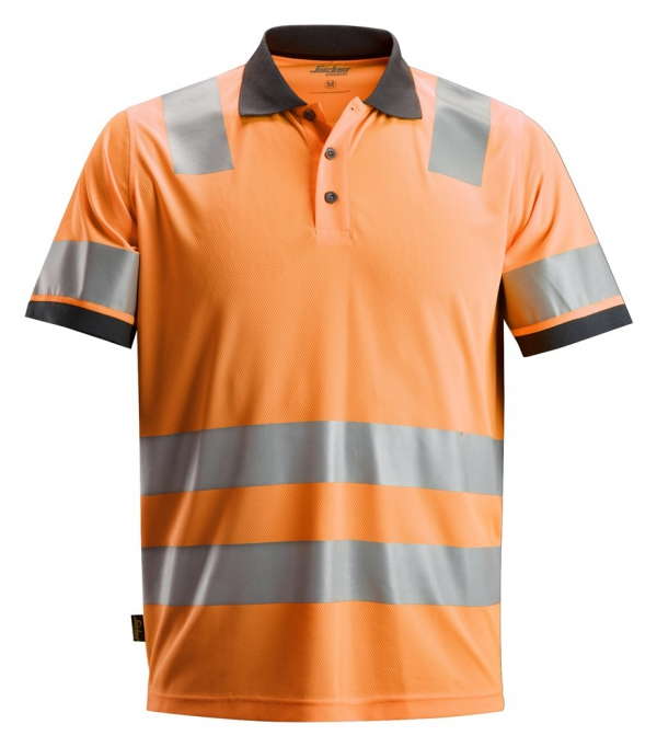 AllroundWork, High-Vis Polo Shirt CL 2