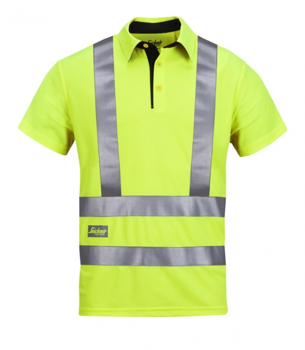 High-Vis A.V.S. Polo Shirt, Klasse 2/3