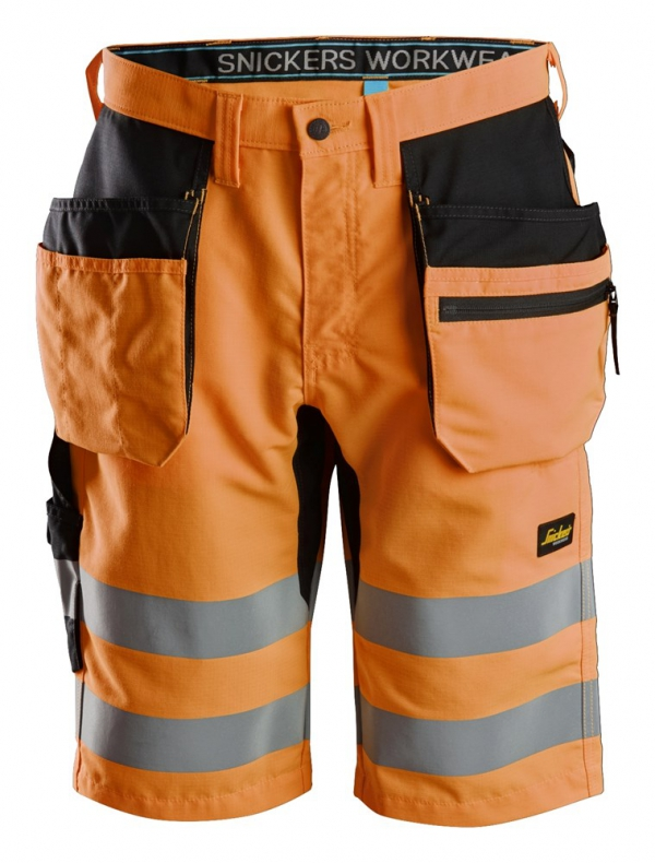 LiteWork, High-Vis Shorts+ Holstertaschen Klasse 1