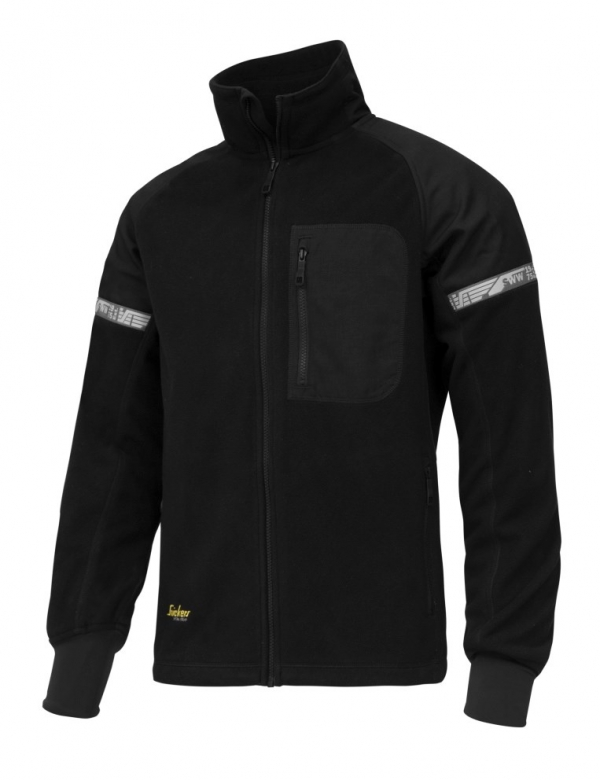 AllroundWork, Winddichte Fleece Arbeitsjacke
