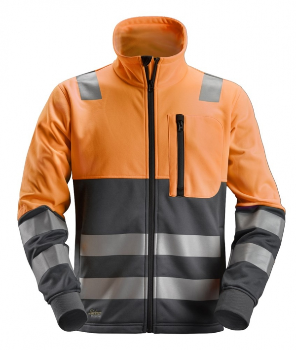 AllroundWork, High-Vis FZ Jacke CL2